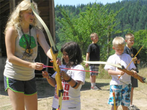 summer-camp-volunteer-archery