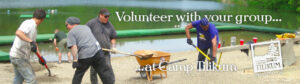 Volunteer with your group at Camp Tilikum.